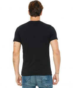 Bella Canvas Black T-shirt Back