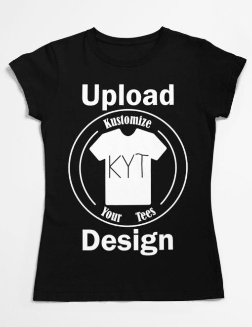 custom woman color t-shirt
